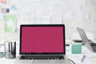 En bärbar dator